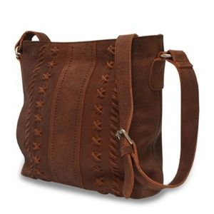 Anabaglish Bags - June Leather Crossbody Bag